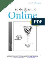 Curso de Desenho Online Nível Avançado Perspectiva Aula 01 Grátis
