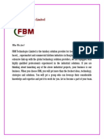FBM Food Industry Profile