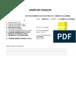 Calculo Filtro Lento - Sedimentador