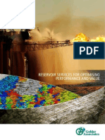 Reservoir Service Brochure
