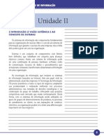 Princípios de Sistemas de Informação Unidade II