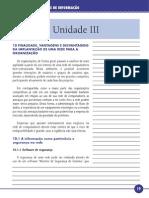 Princípios de Sistemas de Informação Unidade III
