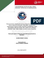 Goday Lucas Elena Reconocimiento Dignificacion
