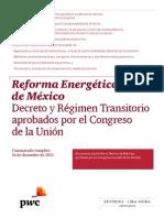 Reforma Energética PWC