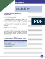 Princípios de Sistemas de Informação Unidade IV