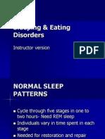 Sleeping & Eating Disorders(2)