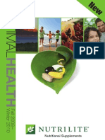 Optimal Health Catalog