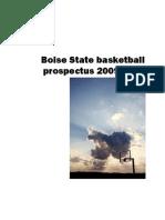 Boise State Basketball Prospectus 2009-2010