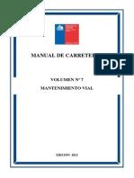 Manual de Carreteras VOL. 7