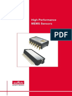 High Performance Mems Sensors