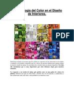 La Psicología Del Color en El Diseño de Interiores