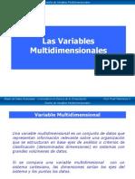 Las Variables Multidimensionales