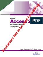 [Manuale] Microsoft Access 2003 Tutorial