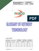 Refinery Glossery