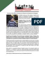 Entrevista a Félix Calderón - 16 de Mayo de 2014