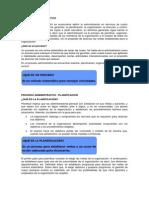 Clase 2° SEMANA - Proceso Administrativo