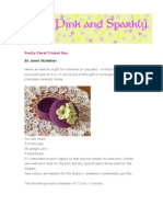 Basket Pretty Floral Trinket Box Pattern 2