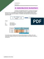 7. Absorcion Maxima