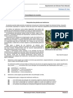 Ficha de Trabalho 1- Consolidação de Conceitos
