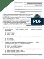 Ficha de Trabalho 7 - Consolidação de Conceitos