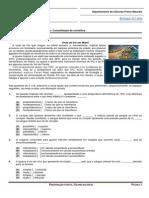 Ficha de Trabalho 10- Consolidação de Conceitos