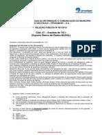 Analista de TIC I (Suporte Banco de Dados MySQL)