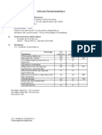 86989576 Informe Psicopedagogico I