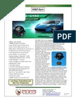 G50Z Gyro Datasheet 130415