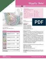 Blanket Bernat Dippity Dots