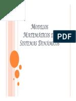Modelos Matemáticos de Espacio de Estado