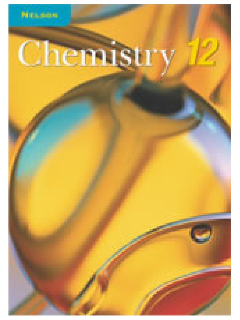 Nelson Chemistry Grade 12 Textbook | Chemical Polarity | Alkane