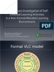 A Preliminary Investigation of Self-Directed Learning Activities