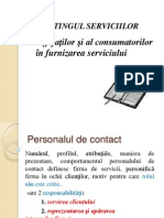 Personalul de Contact Si Clientii