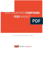 BRIC Countries Compound Feed Market Trends and Forecasts 2014 20201 Libre