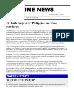 Maritime News 05 May 14