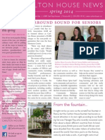 Carlton House Spring 2014 Newsletter