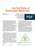 Risks of Flamable Materials
