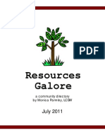 resources galore