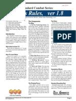 SCS Rules v1.8 - Jan 2014