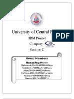 United Bank Limited (UBL) HRM