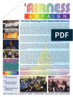 Fairness Campaign Pride 2014 Newsletter