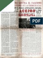Acción Libertaria, Nº 35. Mayo 1939