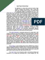 Spark Plugs Technical Paper