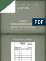Proceso Constructivo de Cancelería