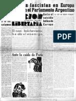 Acción Libertaria, Nº 37. Junio 1940