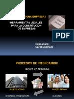 Constitucion de Empresas Carol Espinoza