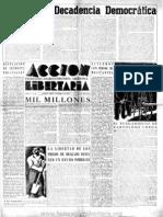 Acción Libertaria, Nº 38. Octubre 1940