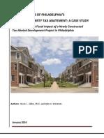 10 Year Abatement Tax Analysis