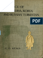 The Face Manchuria Korea & Russian Turkestan