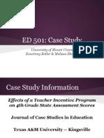 ed 501 case study
